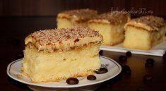prajitura cu crema de vanilie