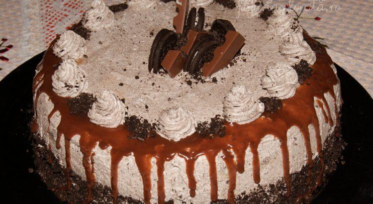 Tort Oreo cu cremă mascarpone