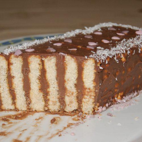 prăjitură rapidă cu mascarpone și nutella