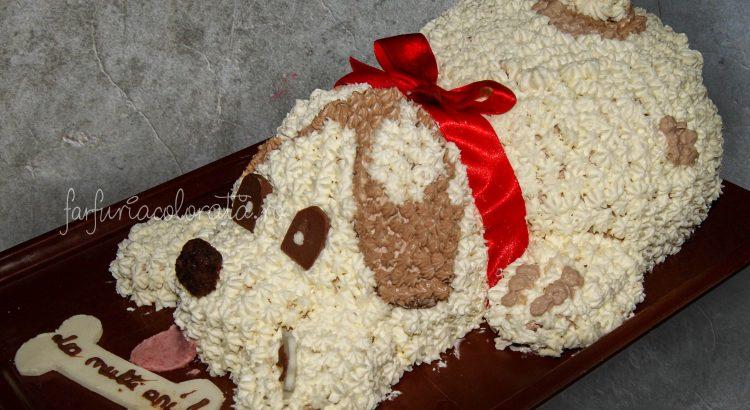 tort în formă de cățel