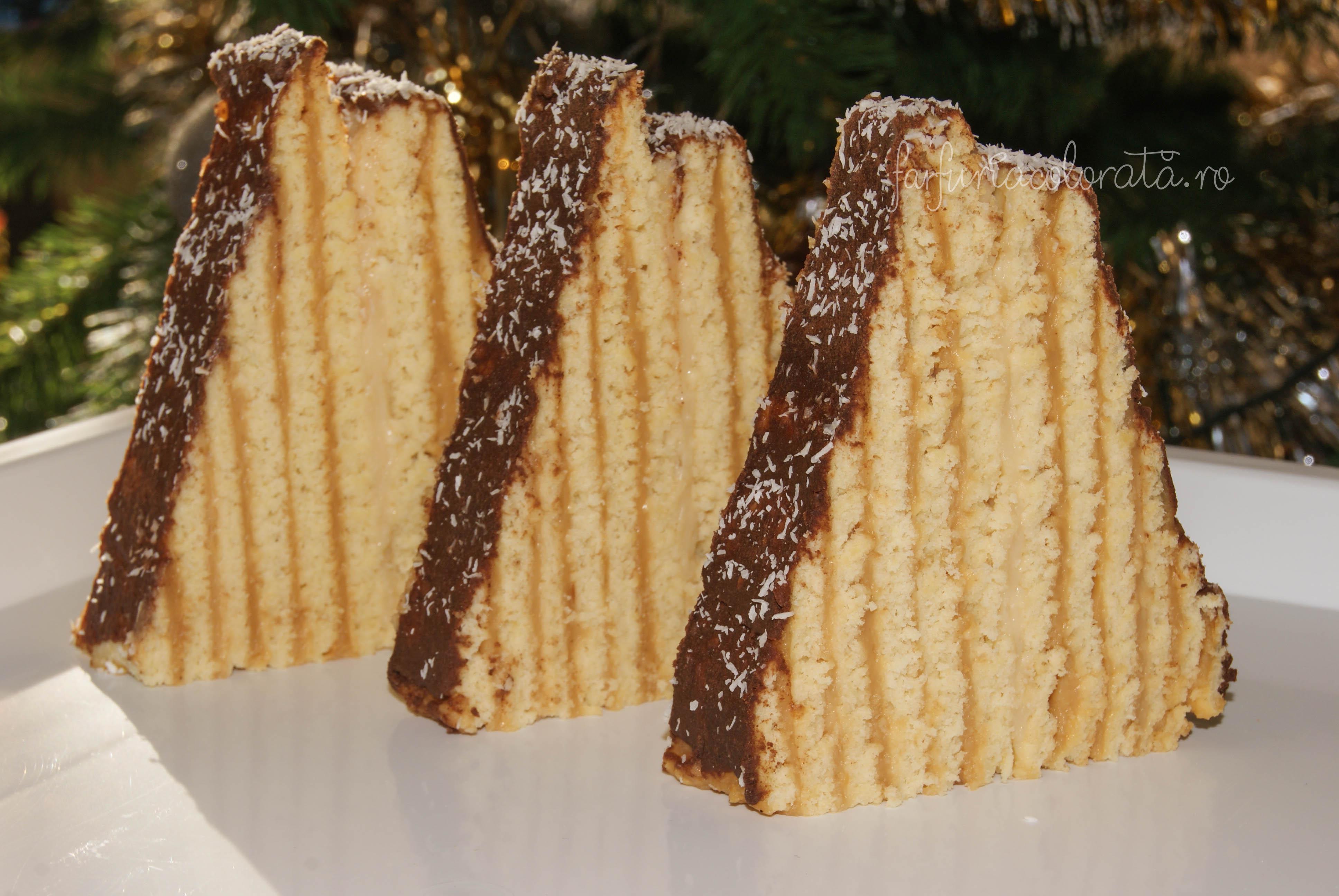 prăjitură Carpați sau Cabana