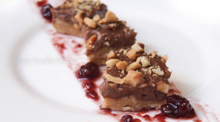 prăjitură fără coacere cu Nutella