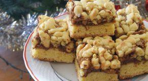 Prăjitură cu aluat răzuit