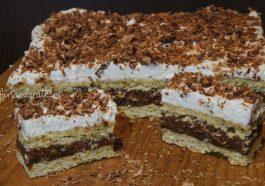 prăjitură Kati, prăjitură cu foaie sfărâmată
