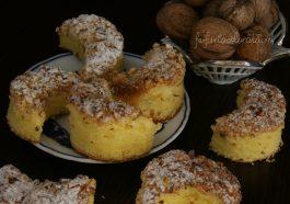 Prăjitură Semilună cu nucă