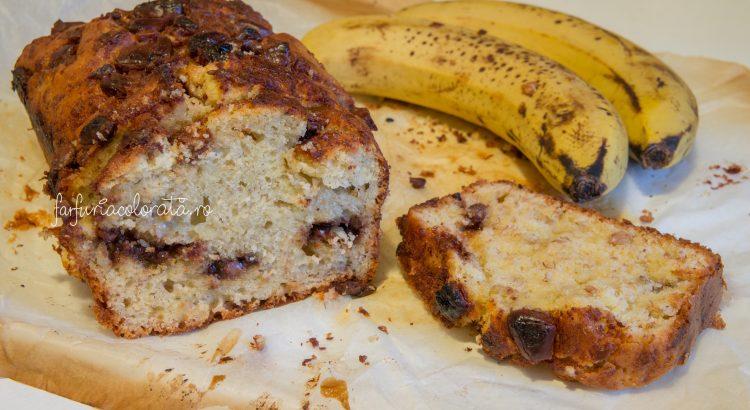 chec cu banane sau banana bread