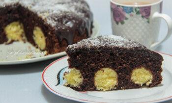 prăjitură cu bile de cocos