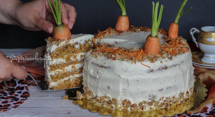 reteta carrot cake reteta tort de morcovi
